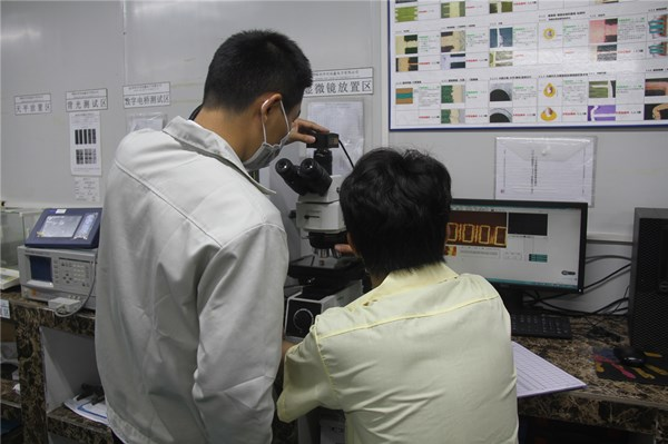 智能手机高精密(HDI)电路板-铜厚检验