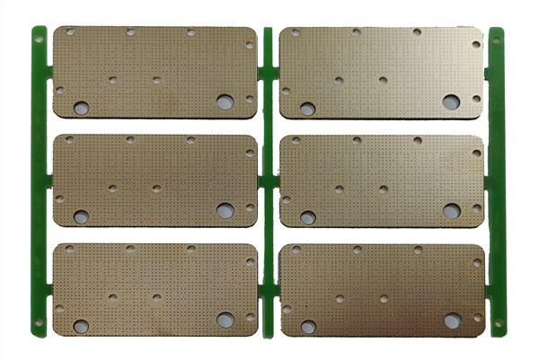 双面沉金5GPCB线路板阻抗板