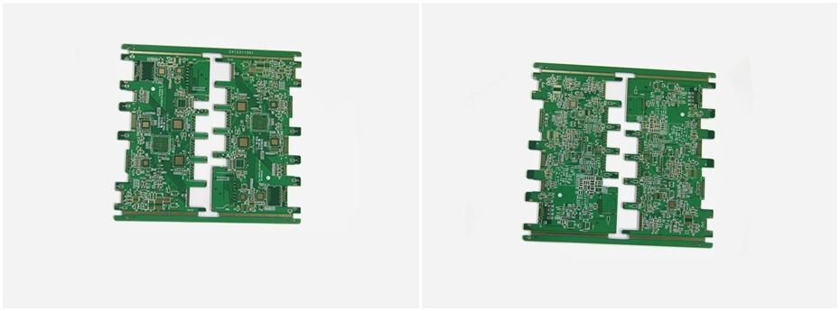 分配器PCB电路板展示图