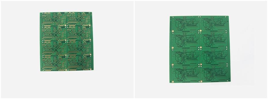 电器测试仪PCB线路板展示图