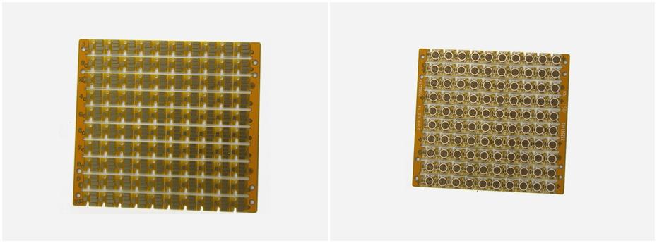 打印机双面PCB线路板展示图