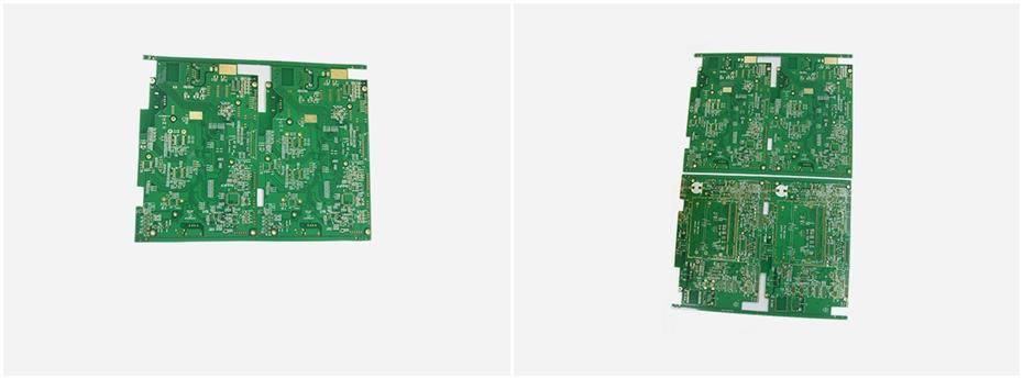 智能识别器电路板展示图