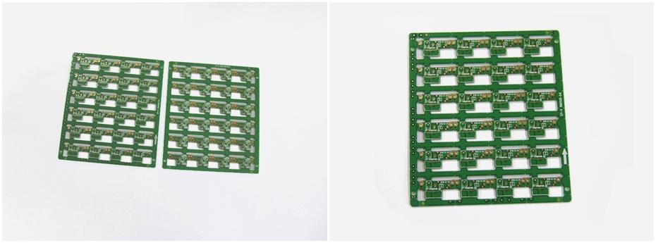数码影像设备PCB线路板展示图