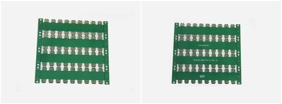 通信电子PCB线路板展示图