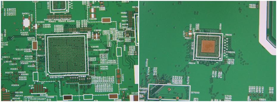 摄像设备PCB线路板展示图